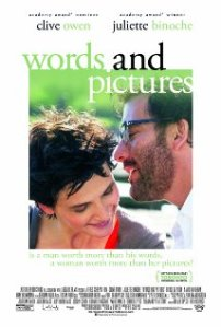 words and pictures movie poster 2
