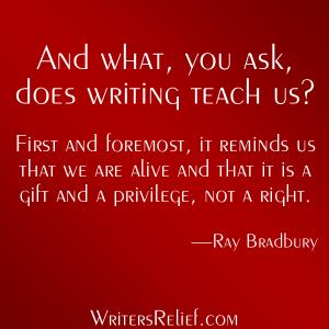 Bradbury quote