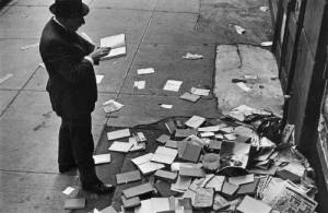 books on the street