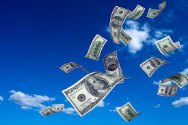 money from sky